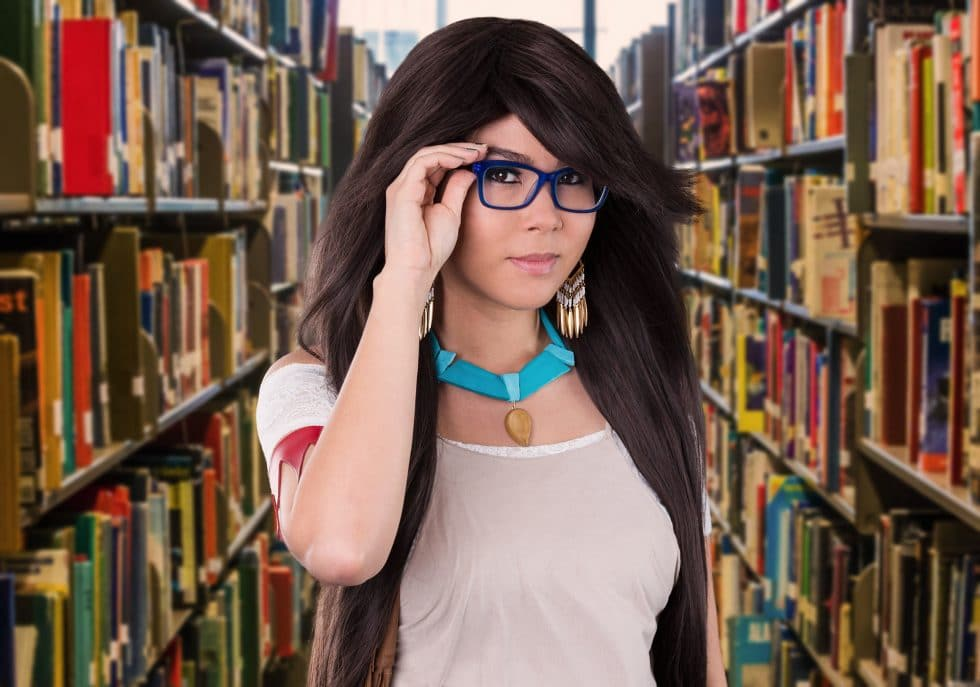 cosplay pocahontas hipster