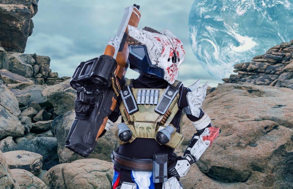 destiny cosplay titan comic con san diego